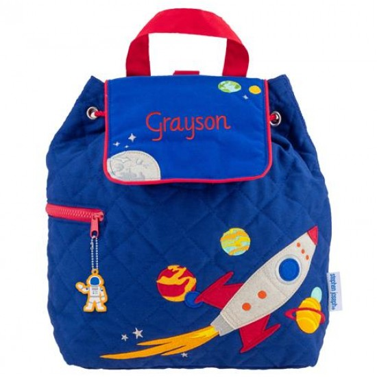 Quilted Backpack - Space