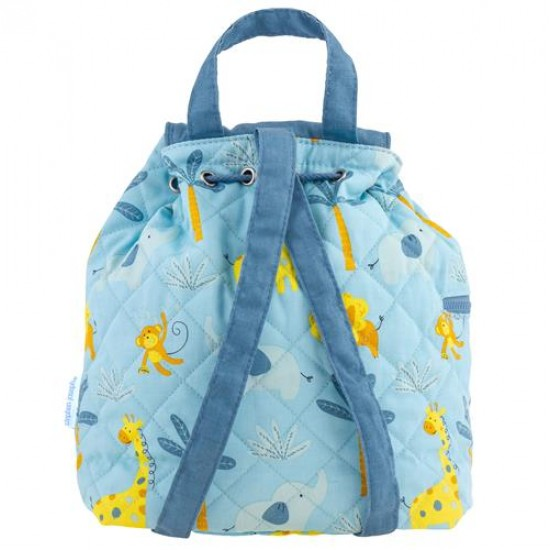 Quilted Backpack - Zoo