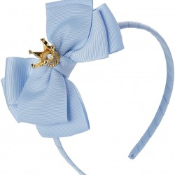 ABAND WITH CROWN BABY BLUE