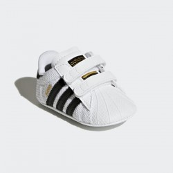 ADIDAS  BABY SUPERSTAR CRIB SHOES