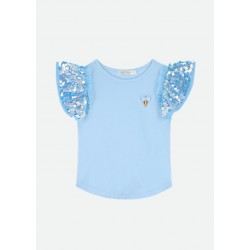 LOUISE TOP BABY BLUE