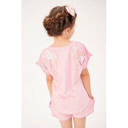 AMY WASHED TEE PINK