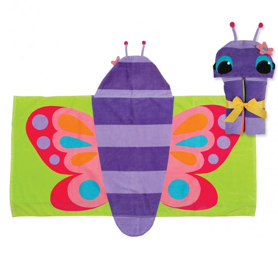 Hooded Towels - Butterfly