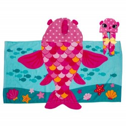 Hooded Towels - Fish