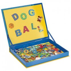 Spell & Count Magnetic Play Board - Boys